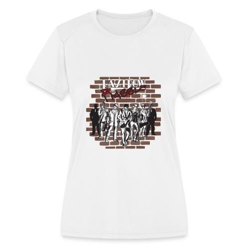 East Row Rabble - Women's Moisture Wicking Performance T-Shirt