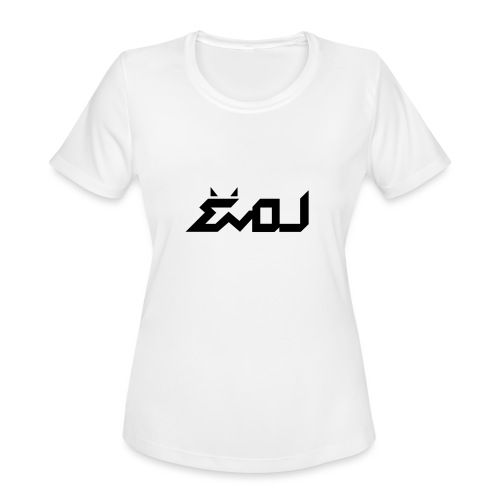 evol logo - Women's Moisture Wicking Performance T-Shirt