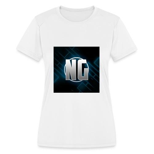 NadhirGamer Merch - Women's Moisture Wicking Performance T-Shirt