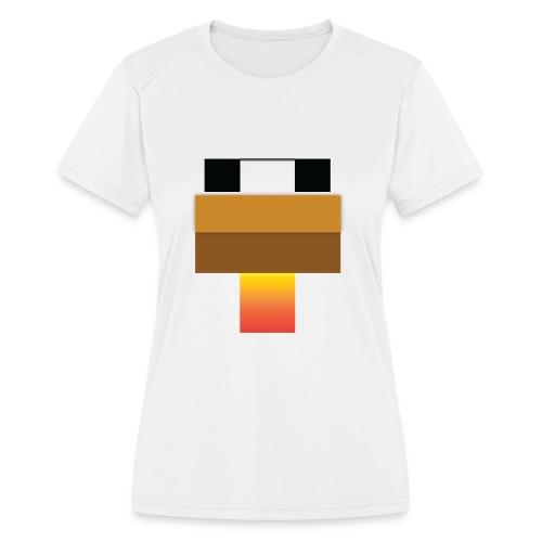 chicken Head - Women's Moisture Wicking Performance T-Shirt