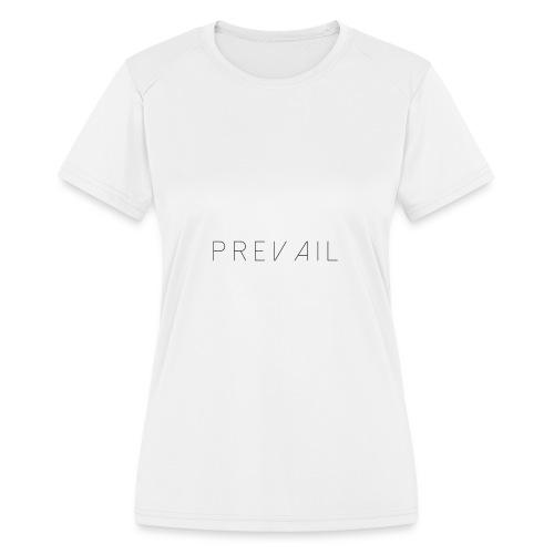 Prevail White - Women's Moisture Wicking Performance T-Shirt