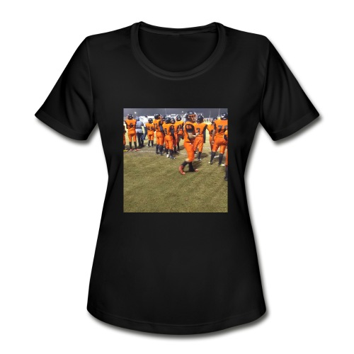 Football team - Women's Moisture Wicking Performance T-Shirt