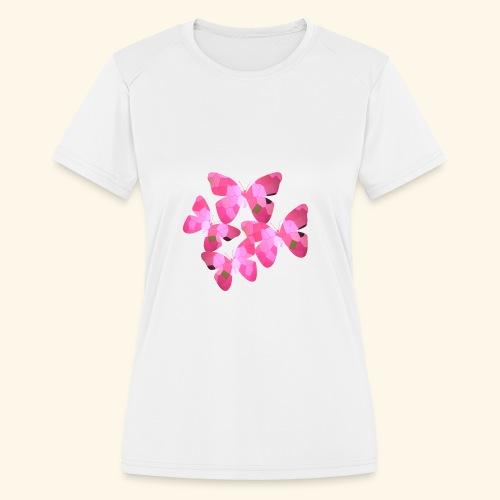 butterfly_effect - Women's Moisture Wicking Performance T-Shirt