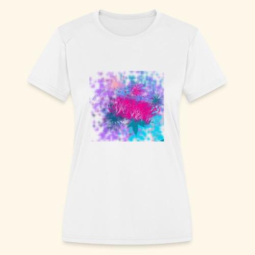Abstract - Women's Moisture Wicking Performance T-Shirt