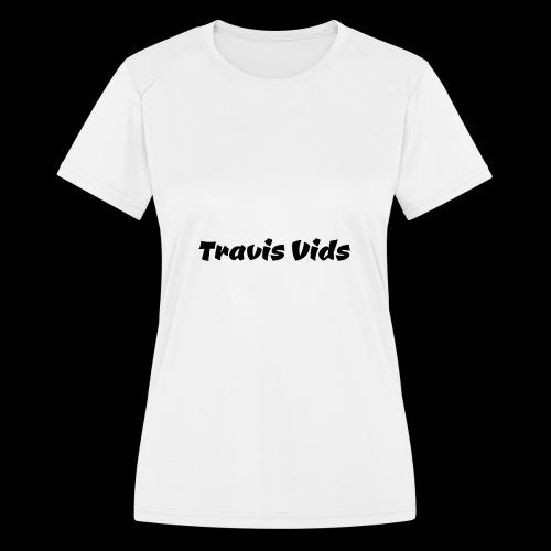 White shirt - Women's Moisture Wicking Performance T-Shirt