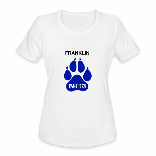 Franklin Panthers - Women's Moisture Wicking Performance T-Shirt