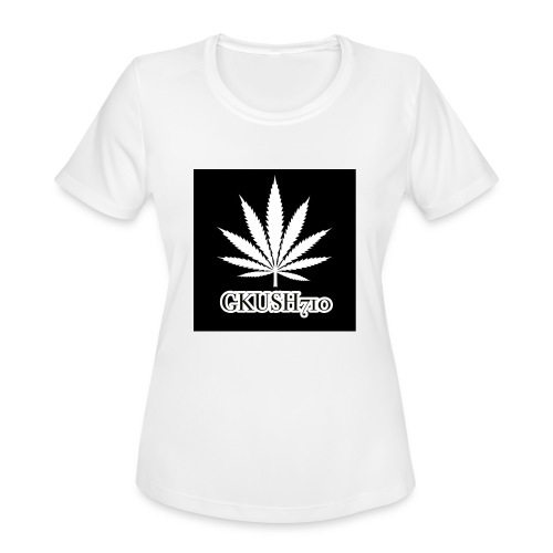 Weed Leaf Gkush710 Hoodies - Women's Moisture Wicking Performance T-Shirt