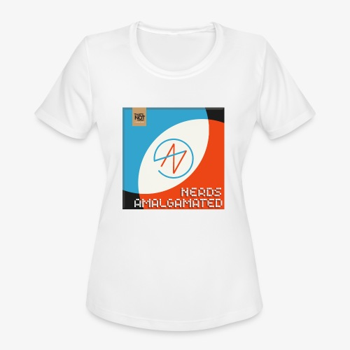 Top Shelf Nerds Cover - Women's Moisture Wicking Performance T-Shirt