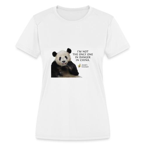 Endangered Pandas - Women's Moisture Wicking Performance T-Shirt