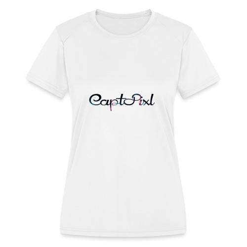 My YouTube Watermark - Women's Moisture Wicking Performance T-Shirt