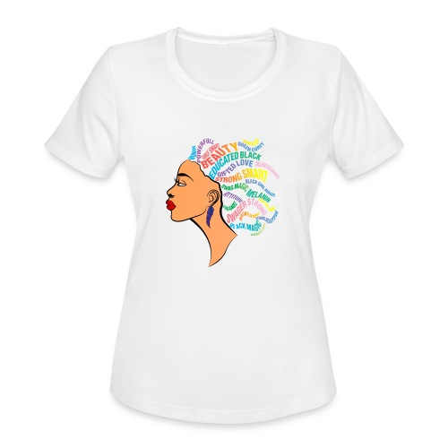 Strong Black Women - Women's Moisture Wicking Performance T-Shirt