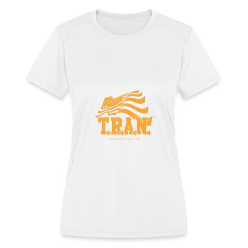 TRAN Gold Club - Women's Moisture Wicking Performance T-Shirt