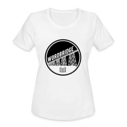 WordBridge Conference Logo - Women's Moisture Wicking Performance T-Shirt