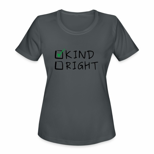 Choose Kind Anti-Bullying - Women's Moisture Wicking Performance T-Shirt