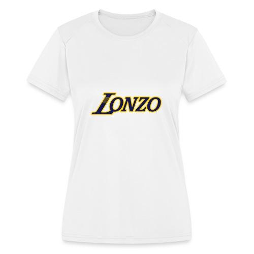 Lonzo - Women's Moisture Wicking Performance T-Shirt