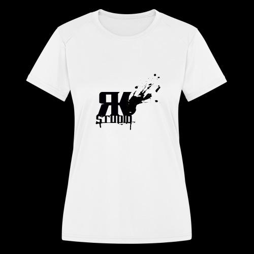 RKStudio Black Version - Women's Moisture Wicking Performance T-Shirt