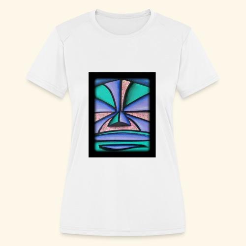 Pastel Tiki - Women's Moisture Wicking Performance T-Shirt