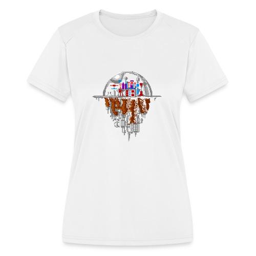 Sky city - Women's Moisture Wicking Performance T-Shirt
