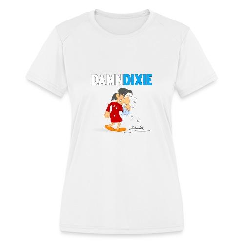 Damn Dixie - Women's Moisture Wicking Performance T-Shirt
