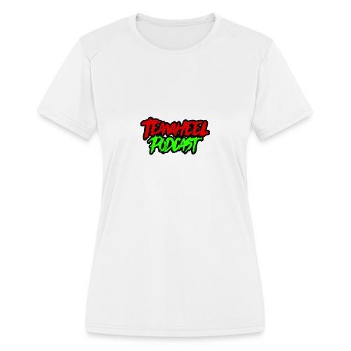 TEAMHEEL Podcast RedNGreen - Women's Moisture Wicking Performance T-Shirt