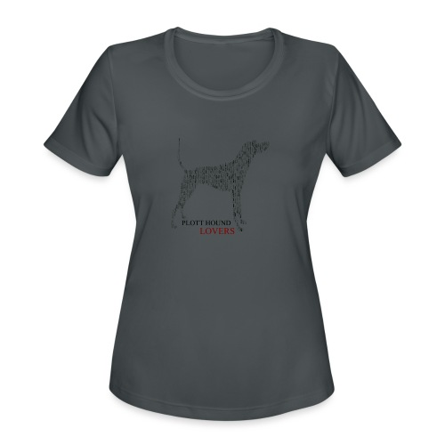 Plott Hound Lovers - Women's Moisture Wicking Performance T-Shirt