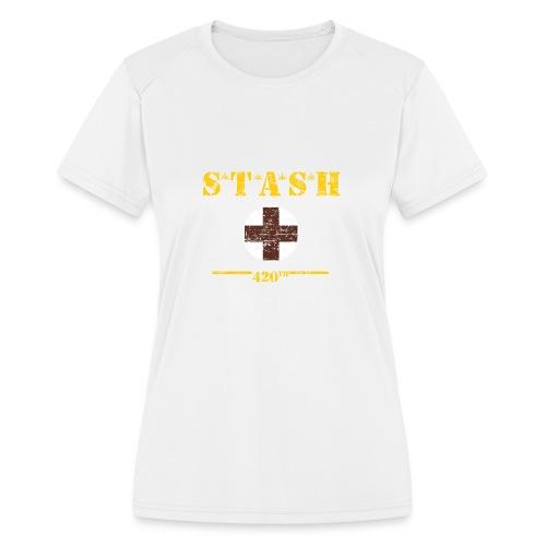 STASH-Final - Women's Moisture Wicking Performance T-Shirt