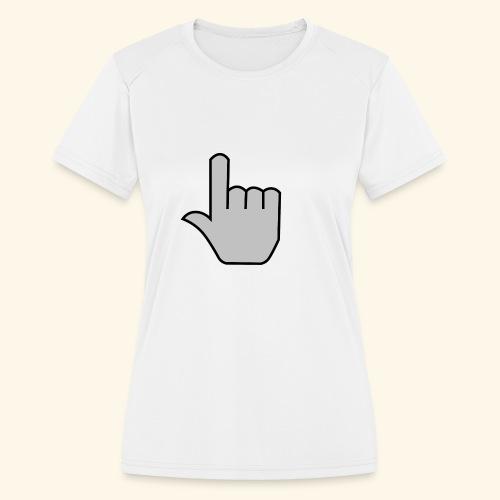 click - Women's Moisture Wicking Performance T-Shirt