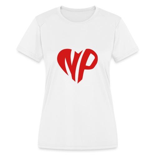 np heart - Women's Moisture Wicking Performance T-Shirt