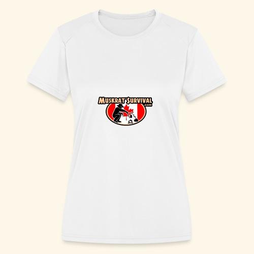 Muskrat Badge 2020 - Women's Moisture Wicking Performance T-Shirt