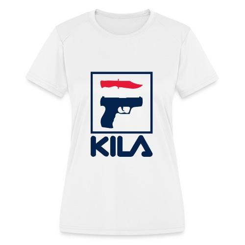 Kila - Women's Moisture Wicking Performance T-Shirt