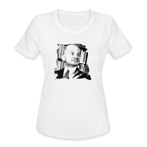 Ludwig von Mises Libertarian - Women's Moisture Wicking Performance T-Shirt