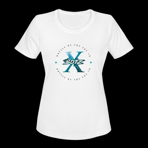 BOTZ X Circle Logo - Women's Moisture Wicking Performance T-Shirt