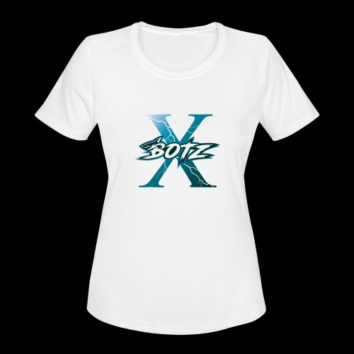 BOTZ X Logo Plain - Women's Moisture Wicking Performance T-Shirt