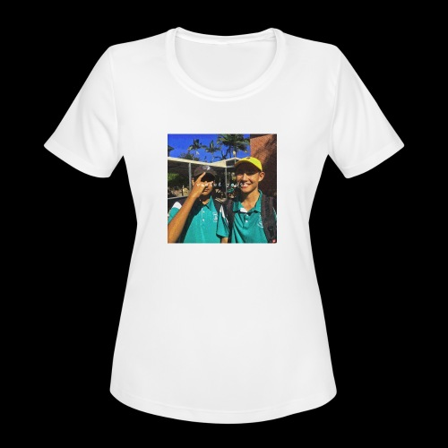 wasted youth. - Women's Moisture Wicking Performance T-Shirt