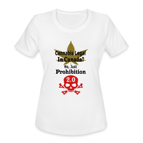 prohibition - Women's Moisture Wicking Performance T-Shirt