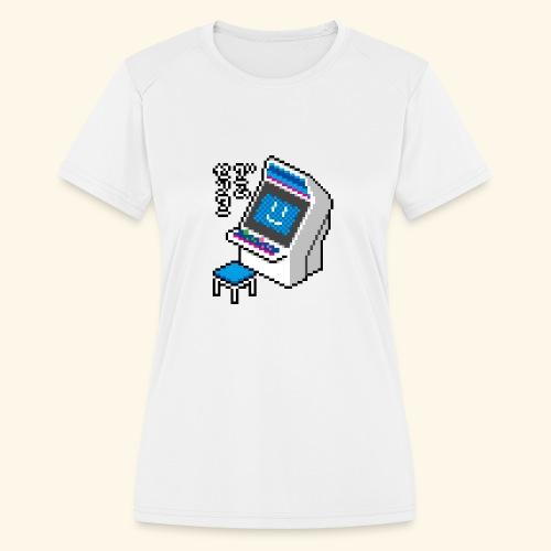 Pixelcandy_BC - Women's Moisture Wicking Performance T-Shirt