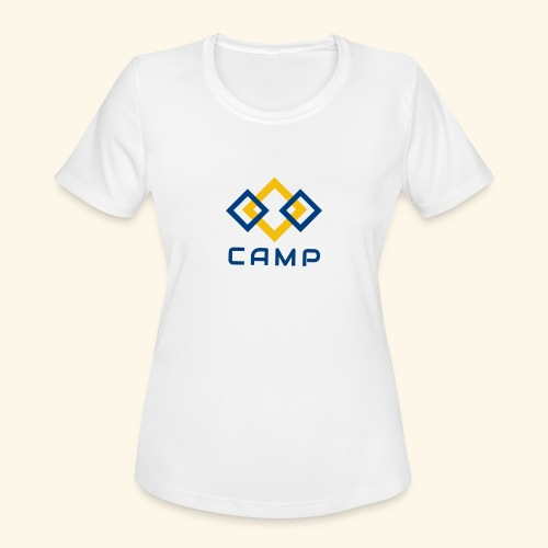 CAMP LOGO and products - Women's Moisture Wicking Performance T-Shirt