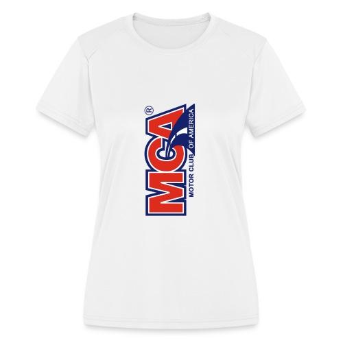 MCA Logo Iphone png - Women's Moisture Wicking Performance T-Shirt
