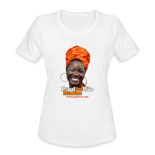 Paul in Rio Radio - Mágica garota - Women's Moisture Wicking Performance T-Shirt
