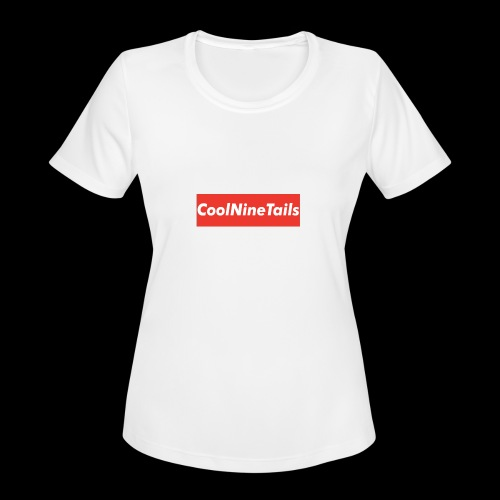 CoolNineTails supreme logo - Women's Moisture Wicking Performance T-Shirt