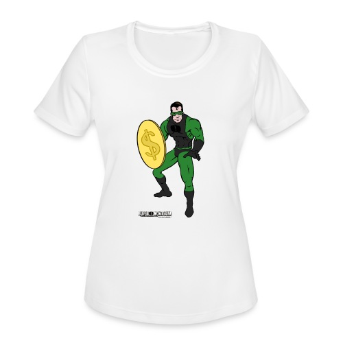 Superhero 4 - Women's Moisture Wicking Performance T-Shirt