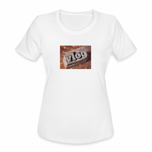 Vlog - Women's Moisture Wicking Performance T-Shirt