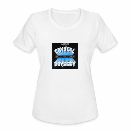 Laserium Crystal Osyssey - Women's Moisture Wicking Performance T-Shirt
