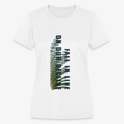 Decline - Women's Moisture Wicking Performance T-Shirt