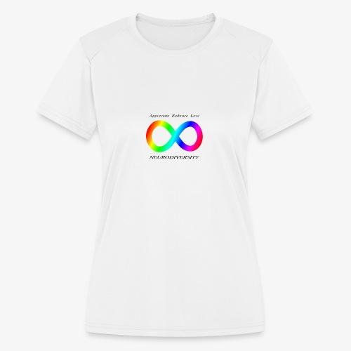 Embrace Neurodiversity - Women's Moisture Wicking Performance T-Shirt