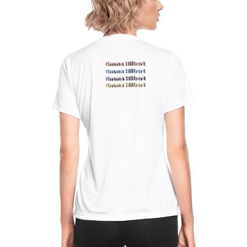 Emma Hilbert All over - Women's Moisture Wicking Performance T-Shirt