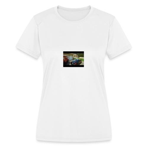 ESSKETIT - Women's Moisture Wicking Performance T-Shirt