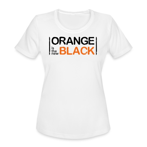 Free Piper, Orange is the New Black Women's - Women's Moisture Wicking Performance T-Shirt
