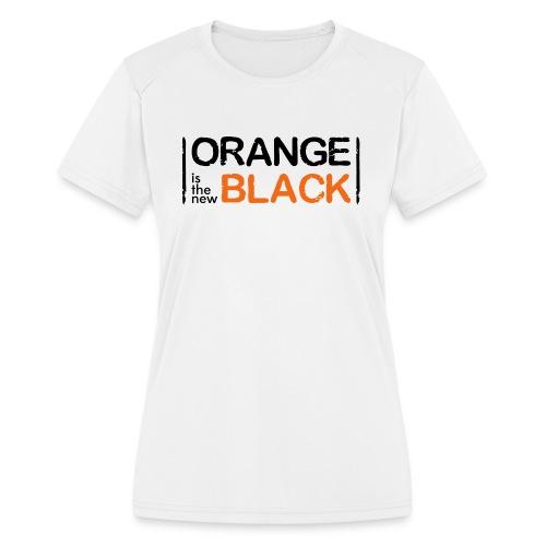 Free Piper, Orange is the New Black Women's - Women's Moisture Wicking Performance T-Shirt