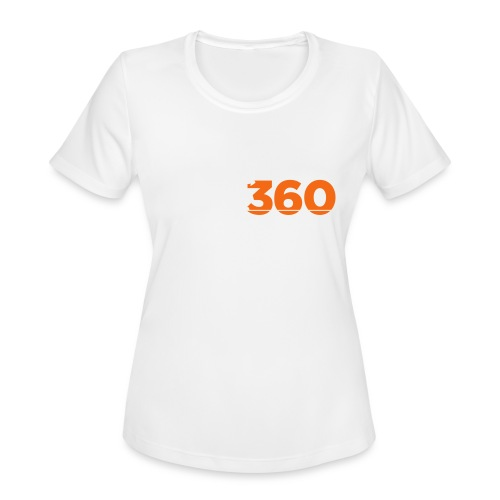 Move360 Logo LightGrey - Women's Moisture Wicking Performance T-Shirt